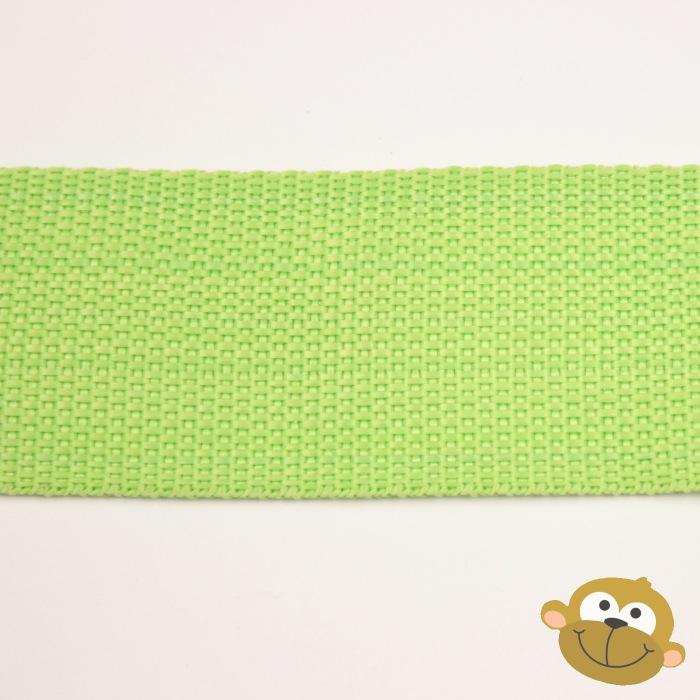 Tassenband Limoengroen 38 mm