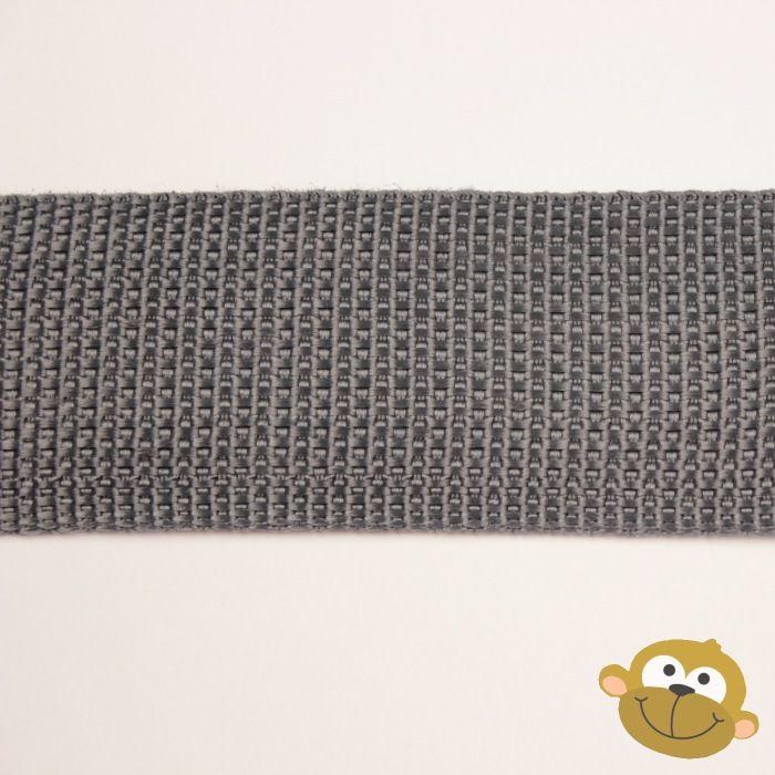 Tassenband Muisgrijs 38 mm