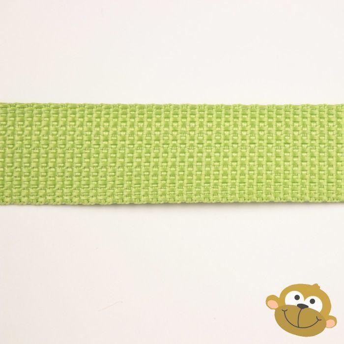 Tassenband Limoengroen 25 mm