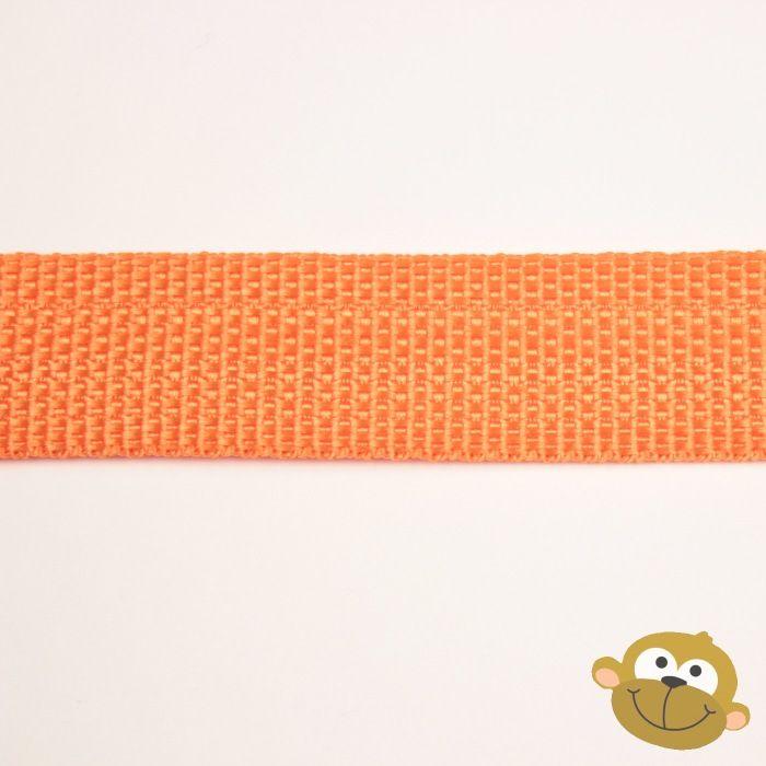 Tassenband Oranje 25 mm