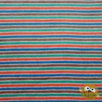Multi Stripes In Brown Nicky Velours