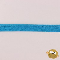 Paspelband Turquoiseblauw