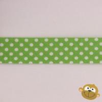 Biaislint Groen Stipjes 20mm