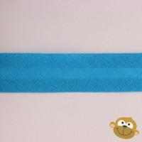 Biaislint Turquoiseblauw 20mm