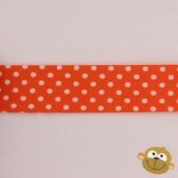 Biaislint Oranje Stipjes 20mm