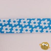 Biaislint Turquoise Bloem 20mm