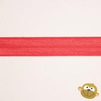 Biaislint Elastisch Rood 15 mm