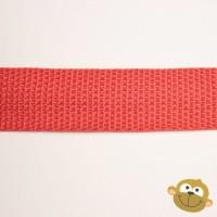 Tassenband Rood 25 mm