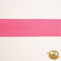 Tassenband Fuchsiaroos 25 mm