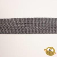 Tassenband Muisgrijs 25 mm