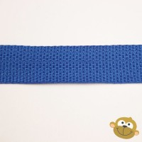 Tassenband Kobaltblauw 25 mm