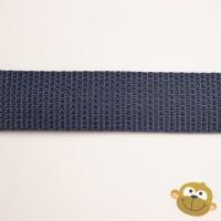 Tassenband Marineblauw 25 mm