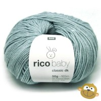 Breiwol Rico Baby Classic dk 50g Smokey Blue