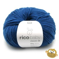Breiwol Rico Baby Classic dk 50g Jeans