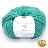 Breiwol Rico Essentials Big 50g Turquoise