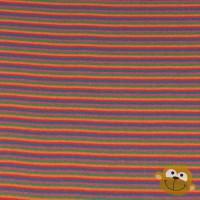 Boordstof Multi Strepen Oranje