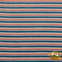Multi Stripes In Orange Nicky Velours