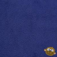 Effen Fleece Kobaltblauw