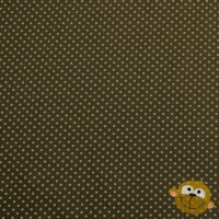 Lime Mini Dots 2 mm In Green Tricot