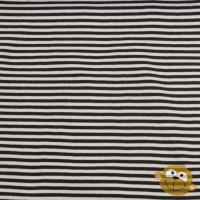 Boordstof Stripes Black&White