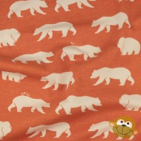 Bear Hike Pool In Orange Tricot