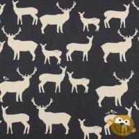 Elk Fam In Dusk Tricot