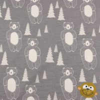 Beary Bear In Grey Tricot