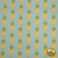 Fresh Market Pineapple  In Blue Katoen