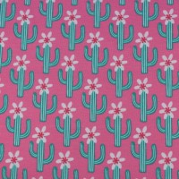 Pink Mexican In Fuchsia  SweatTricot