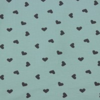 Little Valentine  In Mint Tricot