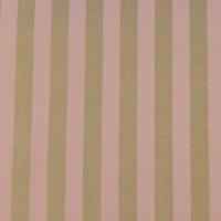 Gold Stripes  In Rose Katoen