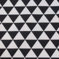 Black Triangle  In White Katoen