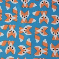 Fox  In Blue Laminated Katoen