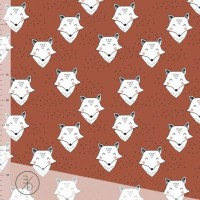 Foxy In Rust Brown Tricot