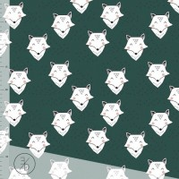 Foxy In Cedar Green Tricot