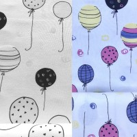 Balloons In White Magic Tricot (change)
