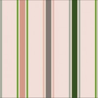 Stripes Blanche In Katoen