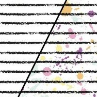 Paint Splashing  In White Magic Tricot (change) PRE-ORDER