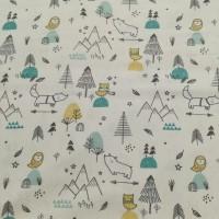 Forest Life In White Katoen