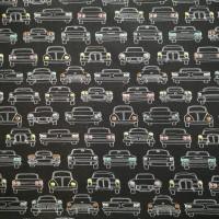 Auto's Met Gekleurde Lichten In Dark Blue Tricot