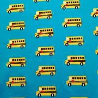 Schoolbusjes In Blue Tricot