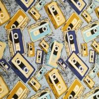 Waar Is Den Tijd? Cassette In Blue Tricot