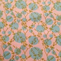 Bloemetjes In Bloei In Roze Tricot
