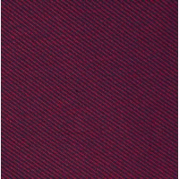 Night Blue And Dark Red Stripes Cotton Fleece