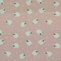 Sheep In Pink Tricot