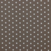Petit Stars in Taupe Cotton
