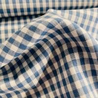 Big Squares in Indigo Cotton
