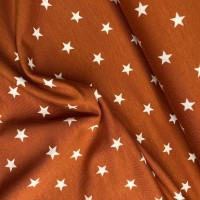 Stars in Rust Tricot