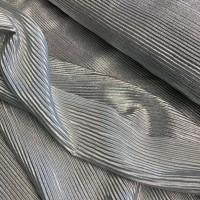 Shiny Mint-Silver Plissé