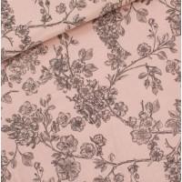 BlosSom in Pale Pink Katoen